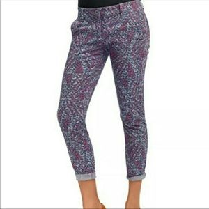 Cabi | Palm Beach Crop Printed Pants
